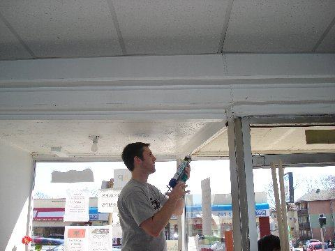 Caulk work